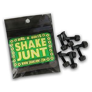 Shake Junt Allen Bag-O-Bolts Black Skateboard Hardware Set - 1 by Shake Junt