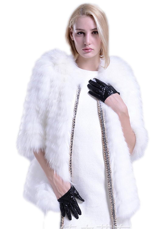 YR.Lover Damen Echt Waschb?r Pelz Winter Warm Mantel&Jacke günstig kaufen