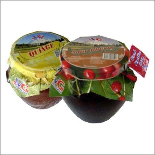 Quince & Sour Cherry Preserve