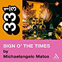 Prince's Sign o' the Times (33 1/3 Series) (       UNABRIDGED) by Michaelangelo Matos Narrated by Nick Sullivan
