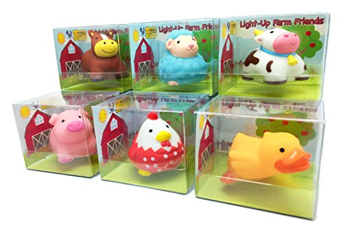 Rittle-Farm-Friends-Cute-Floating-Light-up-Bath-Toys-Set-of-6