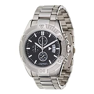 Esprit Herren-Armbanduhr Activity Black ES101661004