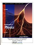 Fundamentals of Physics, Extended: Basic Physics for Science and Engineering, Department of Physics and Astronomy, University of Pittsburgh (0470911271) by David Halliday