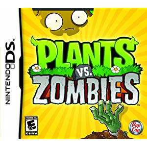 Plants Vs. Zombies Video Game for Nintendo DS