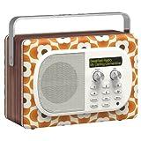 PURE EVOKE MIO ORLA KIELY DAB/FM RADIO (CLEMENTINE)