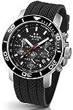 TW Steel Herren-Armbanduhr XL Diver Chronograph Quarz Kautschuk TW-701