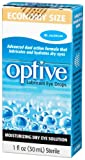 Allergan Optive Lubricant Eye Drops, 2 Bottles 0.5 fl oz (15 ml)