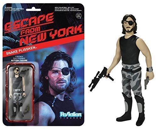 Snake Plissken Action Figure: Funko x Super 7 x Escape from New York ReAction Series