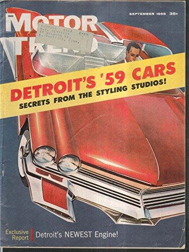 MOTOR TREND Mercury Marauder Cadillac Lincoln Imperial road tests 9 1958 (Mercury Marauder Motor compare prices)