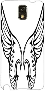 Snoogg Wings Vector Element Designer Protective Back Case Cover For Samsung G...