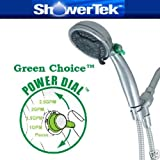 ShowerTek Green Choice Water Saving Adjustable Shower Head Hand Held