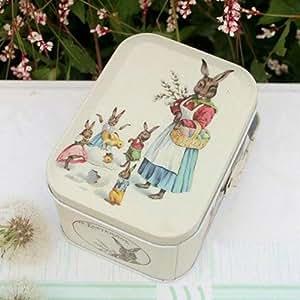 Wedding Gift Ideas Amazon Uk : Rabbit Wedding Sugar Receive Portable Tin Boxes Gift Box: Amazon.co.uk ...