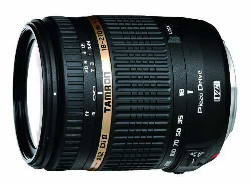 Tamron AF 18-270mm f/3.5-6.3 Di II VC PZD LD Aspherical IF Macro Zoom Lens with Built in Motor for Nikon DSLR Cameras