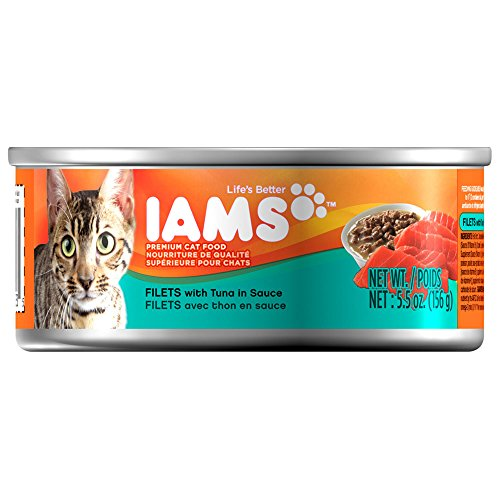 Iams ProActive Health Adult Filets with Tuna in Sauce Canned