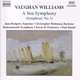 "Vaughan Williams: Symphony No. 1, ""A Sea Symphony"""
