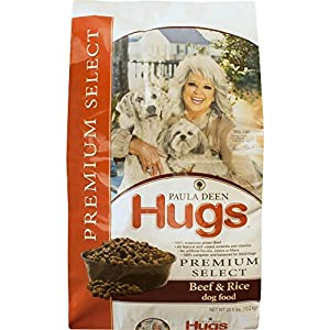 Paula Deen by Hugs Premium Select Dog Food, Beef and Rice, 22.5 lb