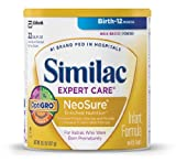 Similac NeoSure Infant Formula Powder with Iron, 13.1-Ounces (Pack of 6) (Packaging May Vary)
