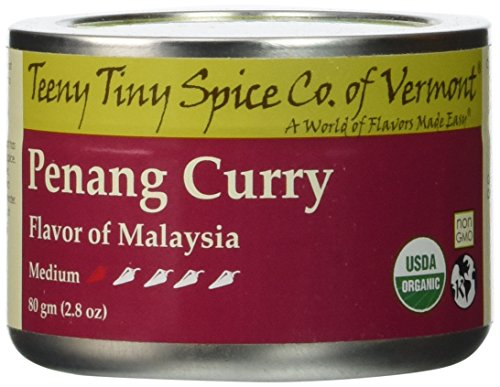 Teeny Tiny Spice Co of Vermont Organic Penang Curry, 2.8 Oz (Organic Green Chili Sauce compare prices)