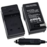 Fosmon Kodak KLIC-7001 Compact Wall + Car Dual Charger Kit for KODAK EasyShare M1063 M1073IS M320 M340 M341 M753Zoom M763 M853Zoom M863 M893IS V550 V570 V610 V705 V750
