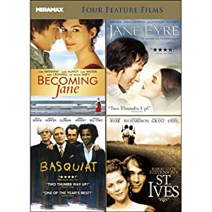 Miramax Critic's Choice V.1: Becoming Jane / Jane Eyre / Basquiat / Robert Louis Stevenson's St. Ives