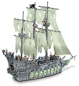 Mega Bloks 1067 - Pirates of the Carribean 3 - Flying Dutchman mit 4 Figuren