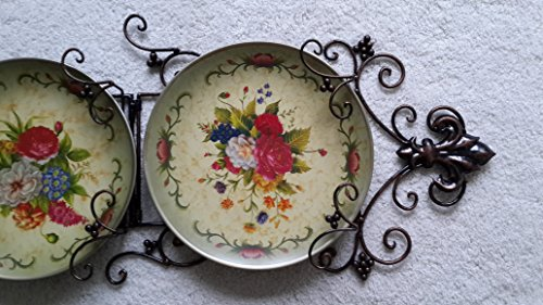 Decorative Wall Plates For Hanging: Elegant Decorative Wall Hanging Plates Set Of Three 10