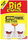 The Big Cheese Ultra Power Rat Traps (Twinpack)