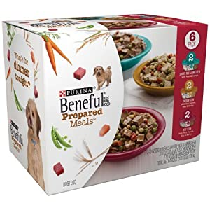 Purina Beneful Prepared Meals Variety Pack Dog Food 6-10 oz. Plastic Tubs (3 Pack)