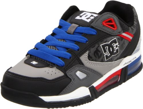 DC Men's Versaflex Nc Action Sports Shoe,Black/Royal/Athletic Red,10 M US