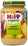 HiPP Organic Stage 2 From 7 Months Spaghetti Carbonara 6 x 190 g (Pack of 2, Total 12 Pots)