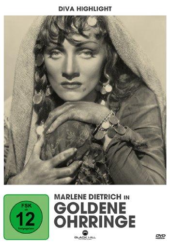 Goldene Ohrringe - Marlene Dietrich Edition