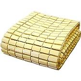 【アウトレット】天然 素材 竹 100% ひんやり 竹シーツ ・ ドミノマット シングル(約90×180cm)