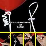 """Ballonverschlüsse """"Helium"""" 100 Stück - partydiscount24®"""