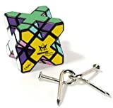 Skewb Extreme _ Meffert's Twisty Rotational Style Puzzle _ with Bonus Twisted Nails Puzzle