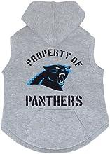 Carolina Panthers Premium Pet Dog Sleeveless Button Up Hoodie Sweatshirt MEDIUM