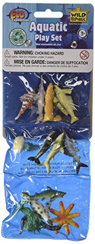 12 Piece Aquatic Animals Playset