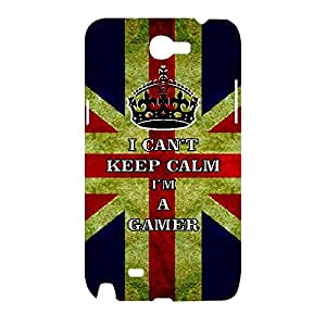 Skin4gadgets I CAN'T KEEP CALM I'm A GAMER - Colour - UK Flag Phone Designer CASE for SAMSUNG GALAXY NOTE 2 (N7100)
