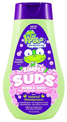 Kandoo Moisturizing Bubble Bath, Tropical Smoothie, 16 Fluid Ounce - 1