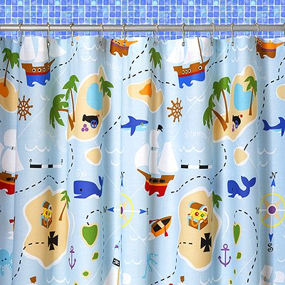 Olive Kids Online: Olive Kids Pirates Shower Curtain