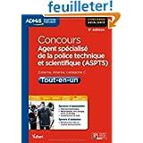 Concours Agent spécialisé de la police technique et scientifique - ASPTS - Tout-en-un - Catégorie C - Concours...