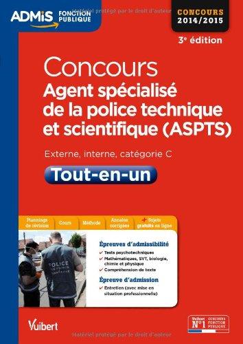 Concours Agent spécialisé de la police technique et scientifique