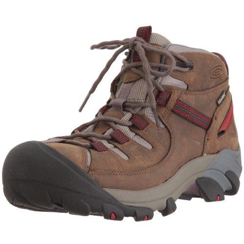 0cacc5908cb KEEN Men's Targhee II Mid Waterproof Hiking Boot,Walnut,9 M US ...