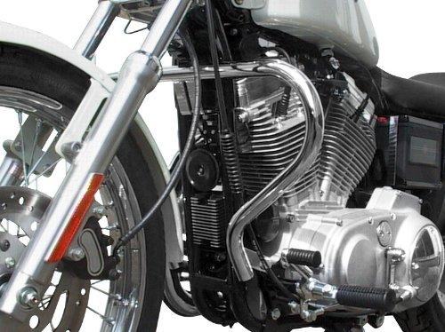 Pare Carter Fehling pour Harley Davidson Sportster 1200 (XLH-1200) 88-99 argent