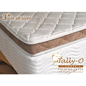 latex mattress topper or Talalay pad