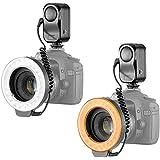 Bestlight® 48 LED Macro Ring Light With 6 Adaptors Rings (Fits 49mm, 52mm, 55mm, 58mm, 62mm or 67mm Lenses) For The Canon Digital EOS Rebel SL1 (100D), T5i (700D), T4i (650D), T3 (1100D), T3i (600D), T1i (500D), T2i (550D), XSI (450D), XS (1000D), XTI (400D), XT (350D), 1D C, 70D, 60D, 60Da, 50D, 40D, 30D, 20D, 10D, 5D, 1D X, 1D, 5D Mark 2, 5D Mark 3, 7D, 6D, Nikon D5300, D5000, D3000, D3200, D5100, D5200, D3100, D7000, D7100, D4, D800, D800E, D600, D610, D40, D40x, D50, D60, D70, D80, D90, D100, D200, D300, D3, D3S, D700 Digital SLR Cameras