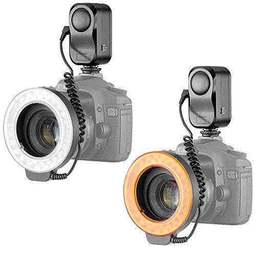 Bestlight-48-LED-Macro-Ring-Light-With-6-Adaptors-Rings-for-Canon-Digital-EOS-Rebel-SL1-100DT5i700DT4i650DT31100DT3i600D60D60Da50DNikon-D5300D5000D3000D3200D5100-DSLR-Cameras