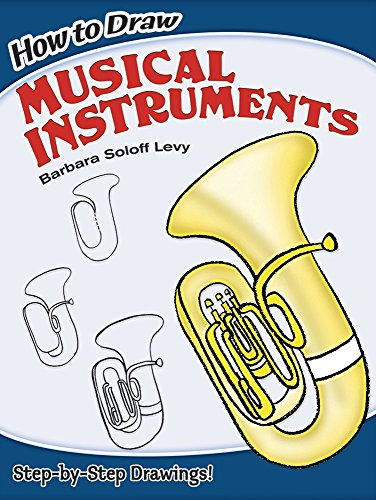 how-to-draw-musical-instruments-dover-how-to-draw