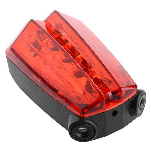 KNOG SKINK 4 Red LED Bike Rear Tail Light Black 3 Flash Mode Water Resistant NEW