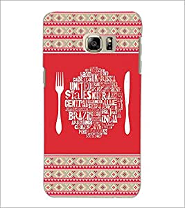 PrintDhaba Typography D-4149 Back Case Cover for SAMSUNG GALAXY NOTE 5 EDGE (Multi-Coloured)