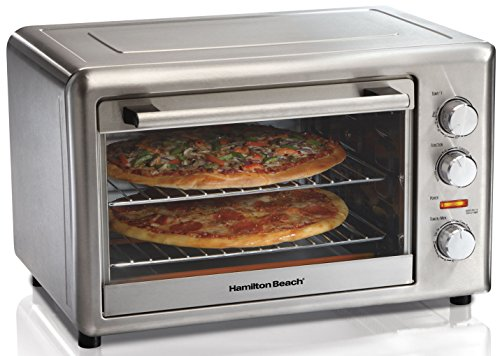 New Home Kitchen Extra Large Capacity Counter-Top Convection Oven W Rotisserie